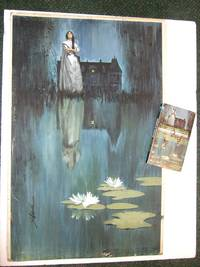 Corridor of Whispers -a Gothic Romance -by Edwina Noone (aka:  Michael Avallone ) ---with the Original Cover Art By Bob ( Robert ) Schinella