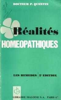 Réalités homéopathiques, les remèdes
