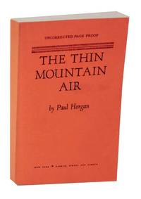 image of The Thin Mountain Air (Uncorrected Proof)