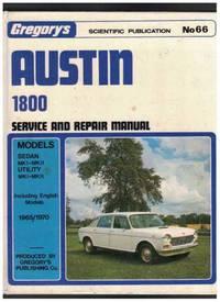 AUSTIN 1800 MK.1. - MK. 2 GREGORY'S SERVICE and REPAIR MANUAL No 66