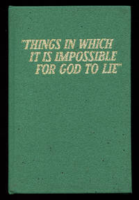 image of Things In Which It Is Impossible For God to Lie