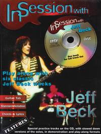 In Session with Jeff Beck: Play Along with Six Classic Jeff Beck Tracks, Book & CD