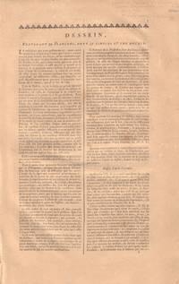 image of Dessein. From Encyclopedie, ou dictionnaire raisonne des sciences, des arts et des metiers.