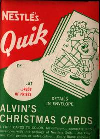Nestle's Quik Alvin and the Chipmunks Christmas Card Set