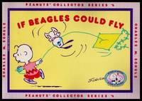 IF BEAGLES COULD FLY - Peanuts Collector Series