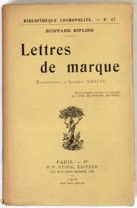 Lettres de marque. Traduction d'Albert Savine.