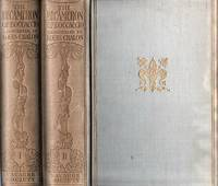 THE DECAMERON OF GIOVANNI BOCCACCIO.  Faithfully Translated by J.M. Rigg.  With an Illustrated Introduction and Fifteen Photogravures from Original Drawings by Louis Chalon.  In Two Volumes