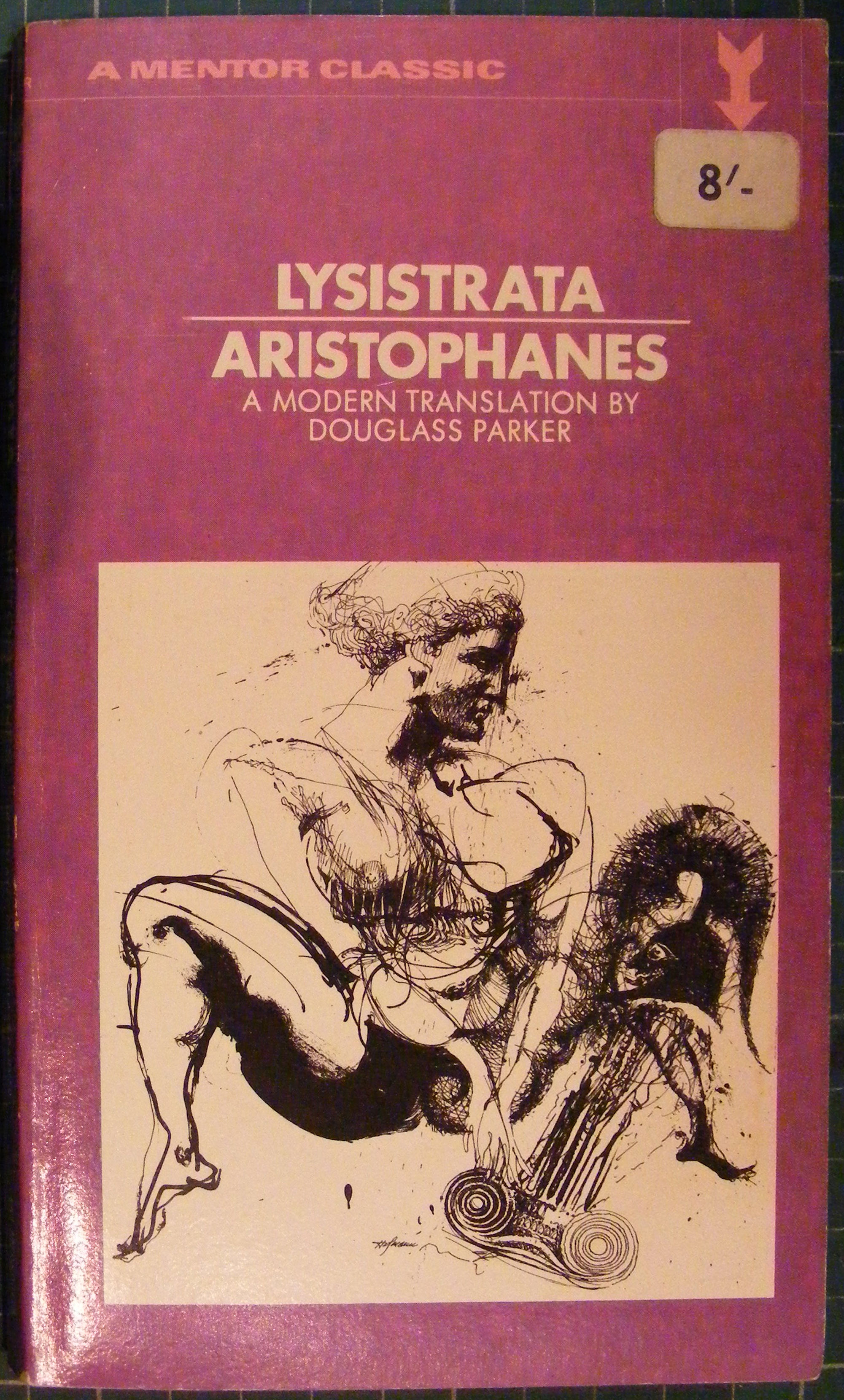 a review on aristophanes play lysistrata A teacher's guide to the signet classic edition of aristophanes's lysistrata 2   try to write such a plot summary for a play or story that is more complicated and.