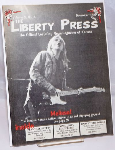 Wichita: The Liberty Press, Inc, 1996. Magazine. 36p. includes covers, 8.5x11 inches, ads, photos, s...