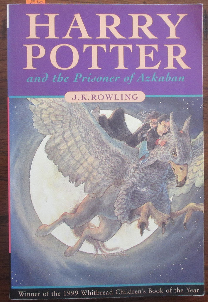 Harry Potter and the Prisoner of Azkaban: Book #3 by J.K Rowling ...