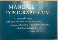 image of Manuale Typographicum [C259]