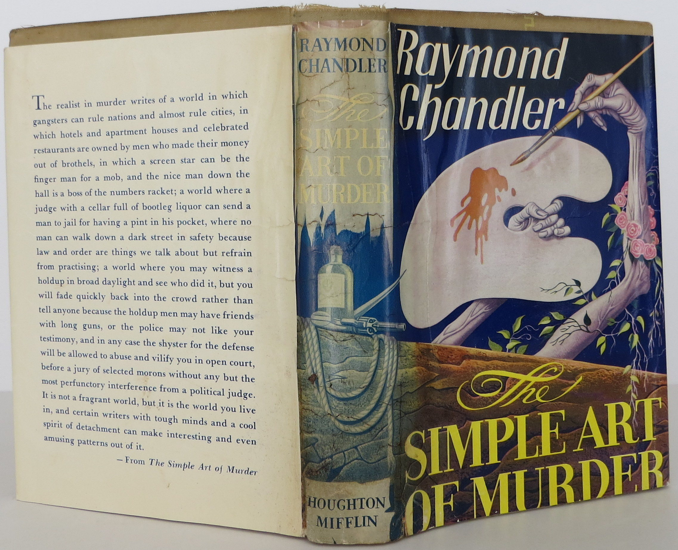 simple art of murder raymond chandler essay Raymond chandler, one of my favorite  the simple art of murder includes eight of his short stories as well as his famous essay from atlantic monthly that gave the.