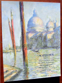 Impressionist and Modern Paintings, Drawings and Sculpture, Part I: New York, Wednesday, May 11, 1994 (Sale 6557)