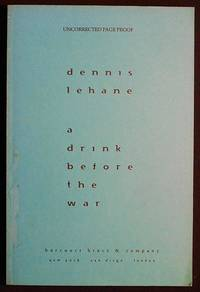 A Drink before the War [uncorrected page proof]