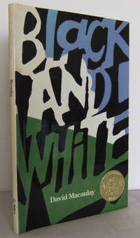 Black and White by  David MACAULAY - Hardcover - Copyright (2nd printing)  - 1990 - from Mad Hatter Books (SKU: 15A71)