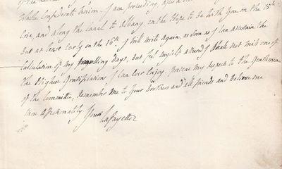 24/05/1825. Marquis de Lafayette He intends to arrive via the newly built Erie CanalOn June 17, 1775...