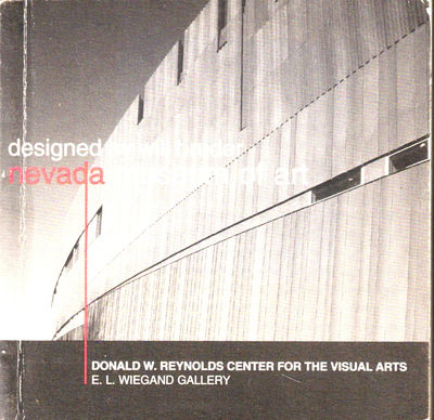 Reno: Donald W. Reynolds Center For the Visual Arts, 2003. Paperback. Very good. 3.5 inches square t...