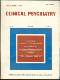 JOURNAL OF CLINICAL PSYCHIATRY JUNE 1982, Clinical Psychiatry