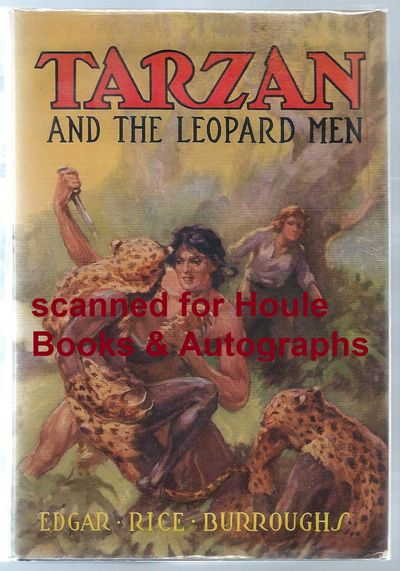 First edition. Octavo. Four illustrations by J. Allen St. John. Original blue cloth stamped in orang...