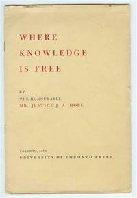 Where Knowledge is Free