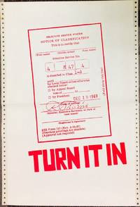 Turn it in [poster with image of a draft card]