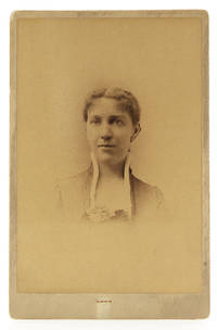 """Original Photographic Portrait, signed in ink on verso """"I am your friend, Mary Orvis Marbury, June 28th 1888"""""""