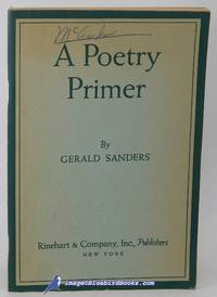A Poetry Primer (The Rinehart English Pamphlet series)