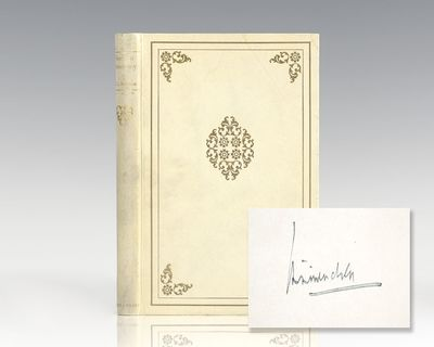 New York: Alfred A. Knopf, 1926. Signed limited first edition of Mencken's critique of the American ...
