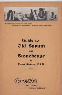 image of GUIDE TO OLD SARUM AND STONEHENGE