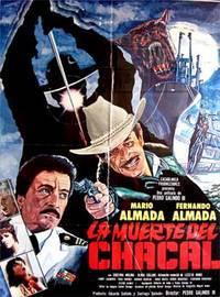 La muerte del chacal. Con Mário Almada, Fernando Almada, Cristina Molina, Olivia Collins (Cartel de la película)