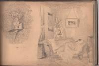 Victorian Amateur Artist Sketchbook, c 1883