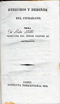 Derechos y deberes del ciudadano.  Obra traducida del idioma francés al castellano.