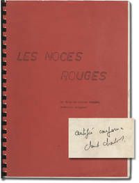 image of Les noces rouges [Wedding in Blood] (Original screenplay for the 1973 film)