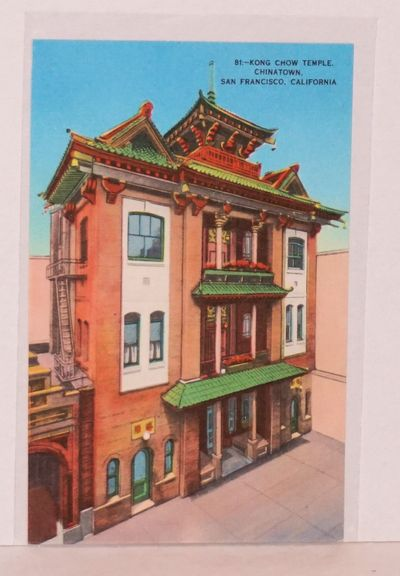San Francisco: Smith News Co, . Color postcard of the temple.