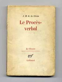 image of Le Procès - Verbal  - 1st Edition/1st Printing
