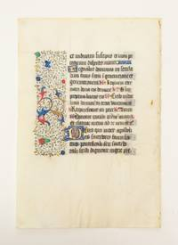 FROM A LARGE BOOK OF HOURS IN LATIN
