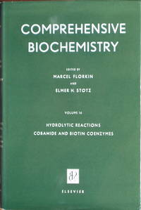 Comprehensive biochemistry vol. 16; hydrolytic reactions, cobamide and biotin coenzymes