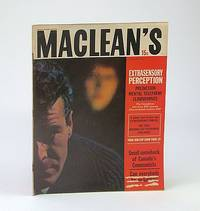 Maclean's, Canada's National Magazine, July 29, 1961 -   ESP and Canadians / Vimy and Passchendaele - Canada's Bravest and Blackest Hours