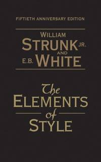 image of The Elements of Style: 50th Anniversary Edition