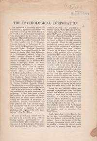 The Psychological Corporation