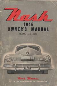Nash 1946 Owner's Manual Series 4640-4660 Car