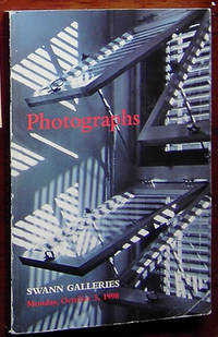 Photographs: Sale catalog # 1801, October 5, 1998 by Swann Galleries - Paperback - 1998 - from Rainy Day Paperback Exchange and Biblio.com