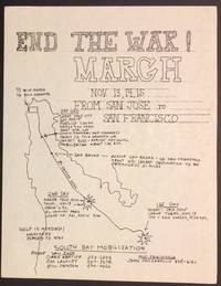 image of End the war! March / Nov. 13, 14, 15 from San Jose to San Francisco [handbill]