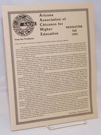 Arizona Association of Chicanos for Higher Education: Newsletter, Fall 1995