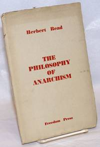 image of The philosophy of anarchism