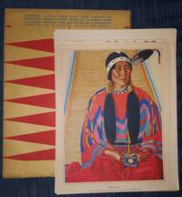 "Blackfeet Indians of Glacier National Park (with 12-page booklet- ""Out of the North: A Brief Historical Sketch of the Blackfeet Indian Tribe"" by Frank Bird Linderman)"