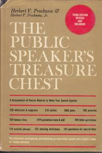 image of The Public Speaker's Treasure Chest A Compendium of Source Material to  Make Your Speech Sparkle