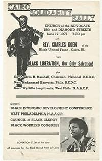 [NAACP] [Black Print Culture] Cairo...