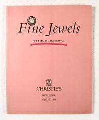image of Christie's : Fine Jewels, Without Reserve : New York : April 12, 1995 : Sale No. LUCKY-8122