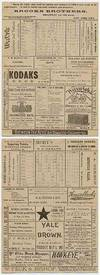 View Image 1 of 3 for Yale vs. Brown Tuesday, May 2, 1893 Inventory #51562